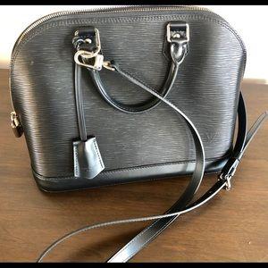 e054bd2a7d0b Women s Black And White Louis Vuitton Bag Alma on Poshmark